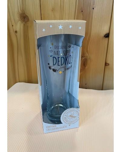 Pivný pohár s originálnou potlačou