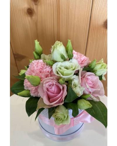 Kvetinový box Pink