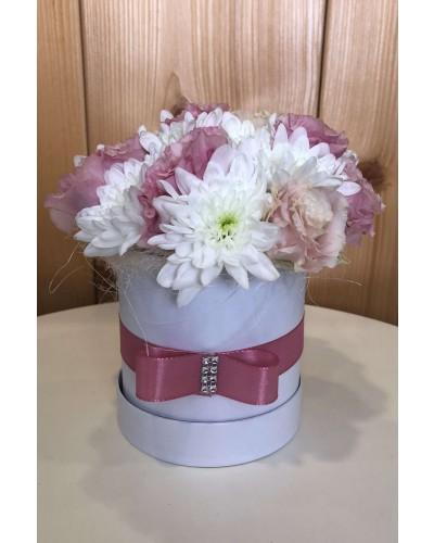 Kvetinový box Lisianthus