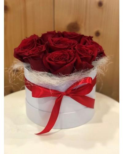 Kvetinový box z ruží